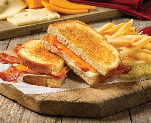 Grown-Up Grilled Cheese