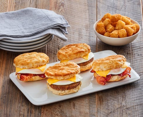 Biscuit Sandwich Family Meal