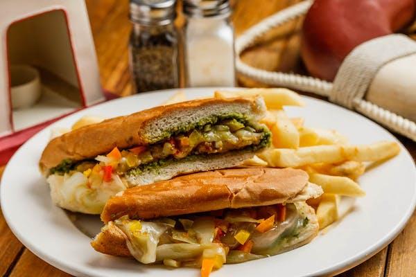 Green Wave Sandwich