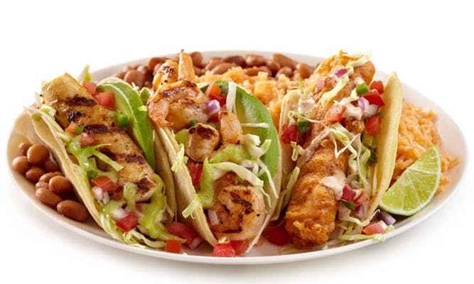 Seafood Two Taco Combos