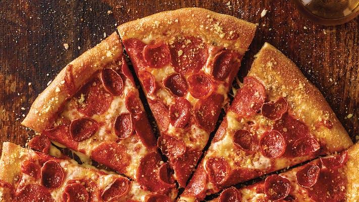 Pepperoni Melt Pizza