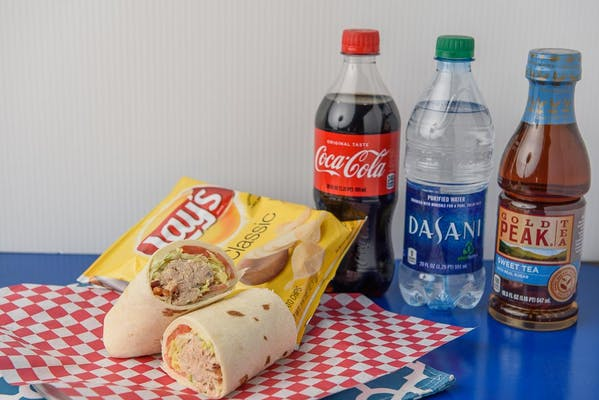 The Bug-Ger Wrap Coca-Cola Combo