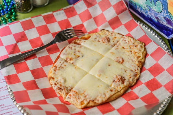 Kid's Cheesy Man Pizza