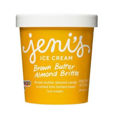 Brown Butter Almond Brittle Pint