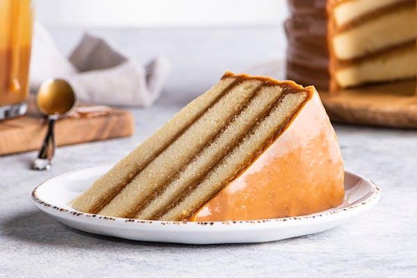 Caramel Cake Slice