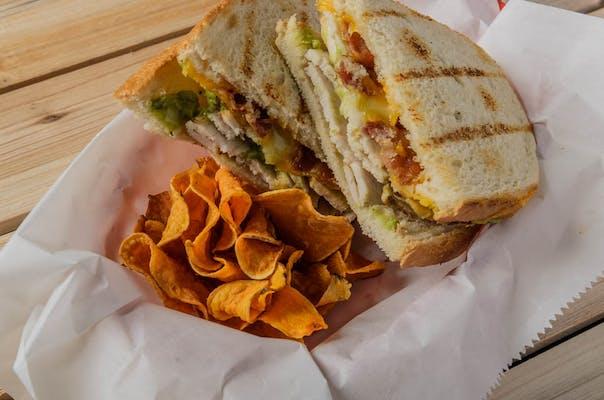 Guacamole Gobbler Sandwich