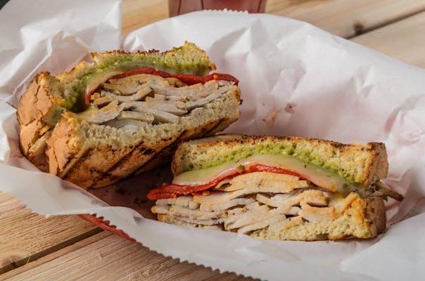 Turkey Pesto Sandwich