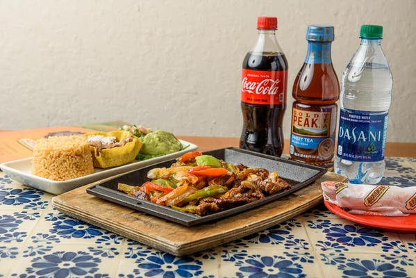 Fajita Steak & Chicken Coca-Cola Combo