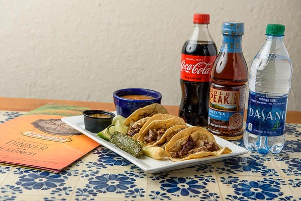 Tacos de Carne Asada Coca-Cola Combo
