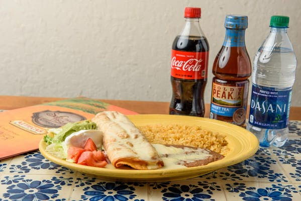 Chimichanga Dinner Coca-Cola Combo
