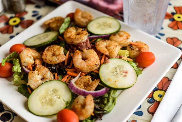 Lunch Grilled Shrimp Salad