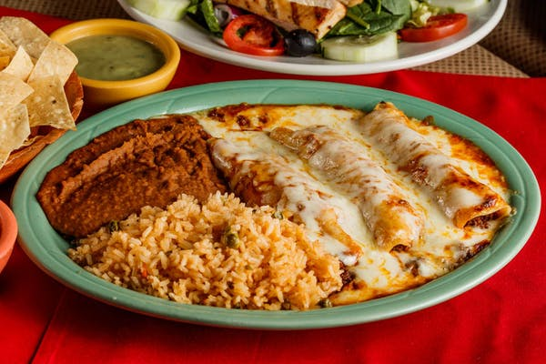 Traditional Enchiladas