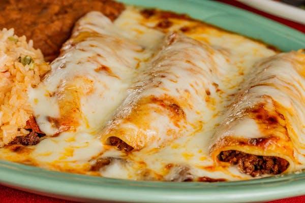 (3) À La Carte Enchiladas