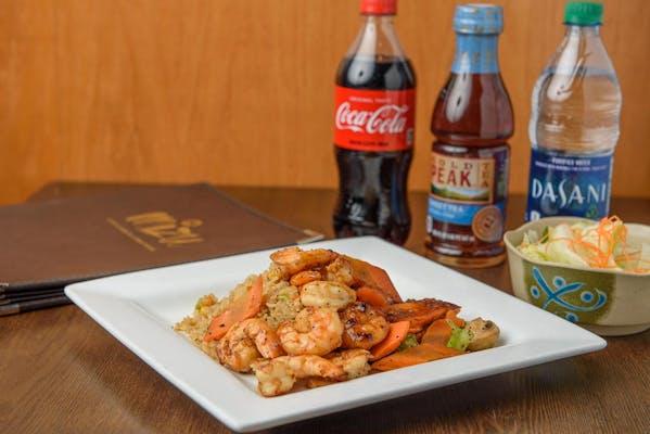 Hibachi Shrimp Coca-Cola Combo