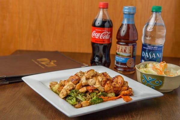 Hibachi Chicken & Shrimp Coca-Cola Combo