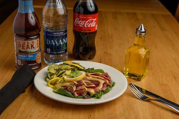 Blackened Seared Tuna Coca-Cola Combo