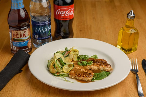 Balsamic Grilled Chicken Coca-Cola Combo