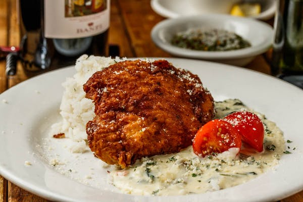 Fried Pork Florentine
