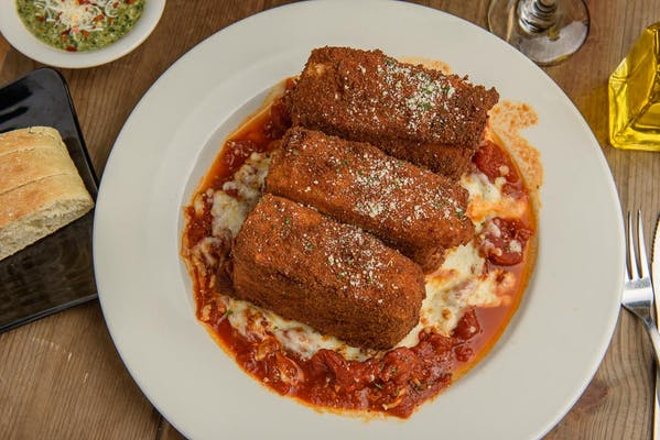 Fried Lasagna (Lunch)