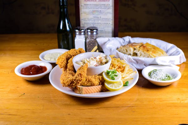 Fried Catfish Plate (Lunch)
