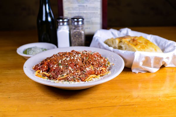 Classic Spaghetti Bolognese (Meat Sauce) (Lunch)