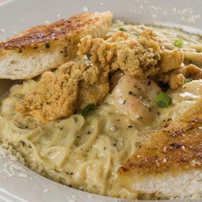 Prejean's Seafood Alfredo