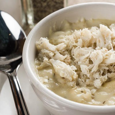 Corn & Crab Bisque