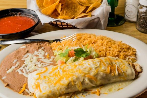 Cheese & Steak Burrito