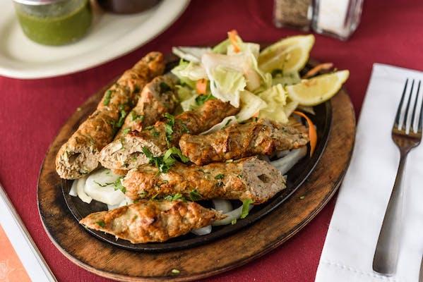 22. Chicken Seekh Kebab