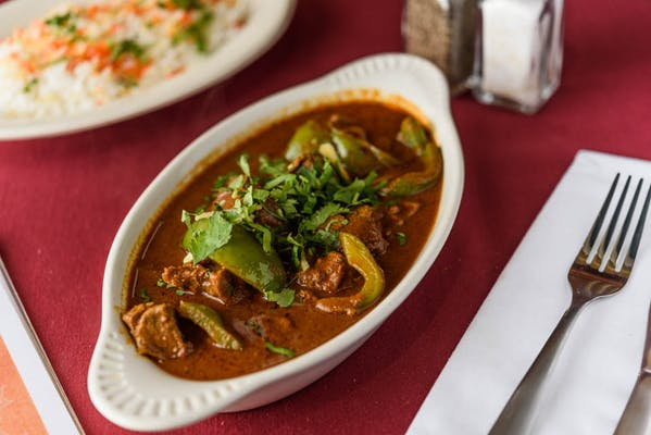38. Karahai Gosht (Spicy)