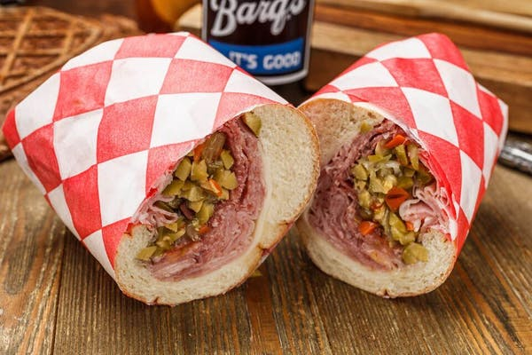 Muffuletta Lil' Monster Sub