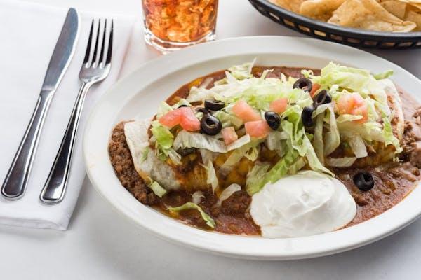 Lunch Tex Mex Burrito