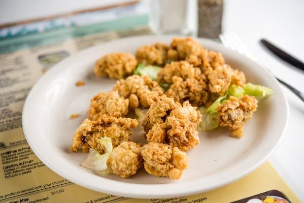 Fried Bayou Oysters