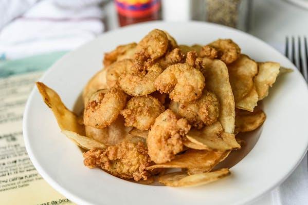 Kid's Fried Gulf Shrimp