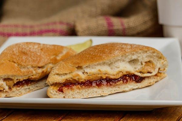 Kid's Peanut Butter & Jelly Sandwich