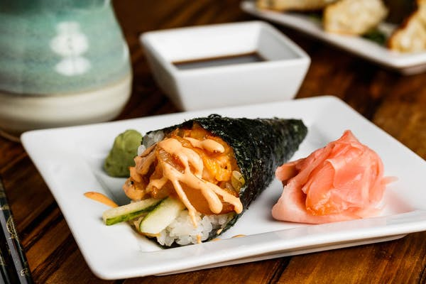 Spicy Yellowtail Hand Roll