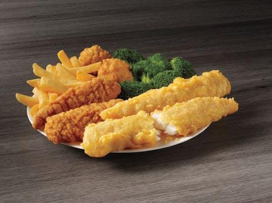 2 Piece Fish & 2 Piece Chicken Meal