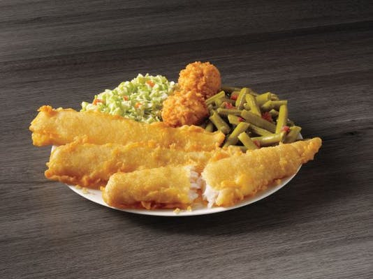 3 Piece Batter Dipped Fish Meal