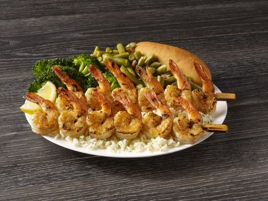 Shrimp Skewers Meal