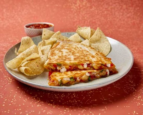 Chicken Club Quesadilla