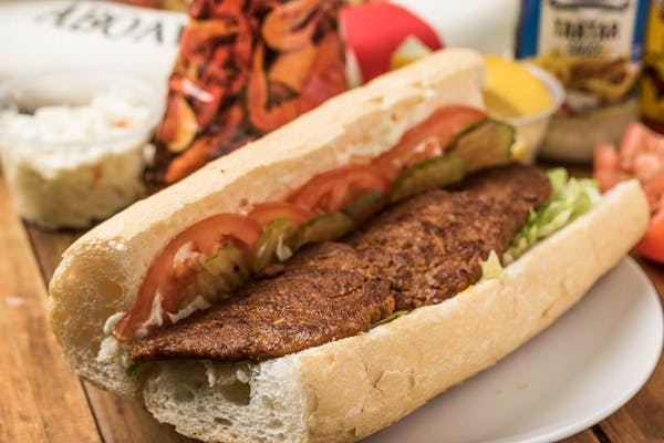 Hot Sausage Patty Poboy