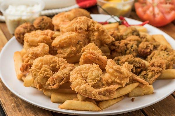 Fried Shrimp & Oyster Platter