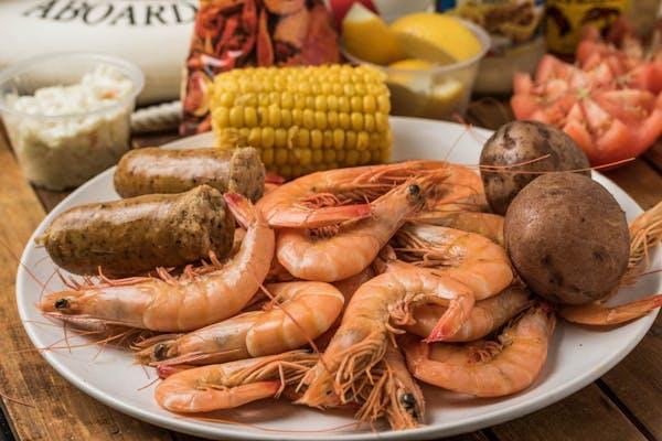 Boiled Shrimp Plate
