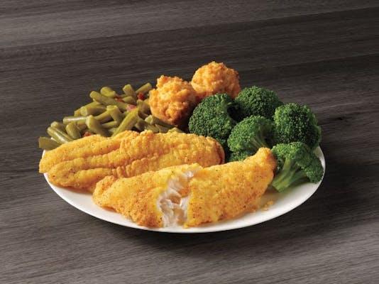 2 Piece Catfish Meal