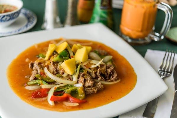 Stir-Fry Mango Sauce