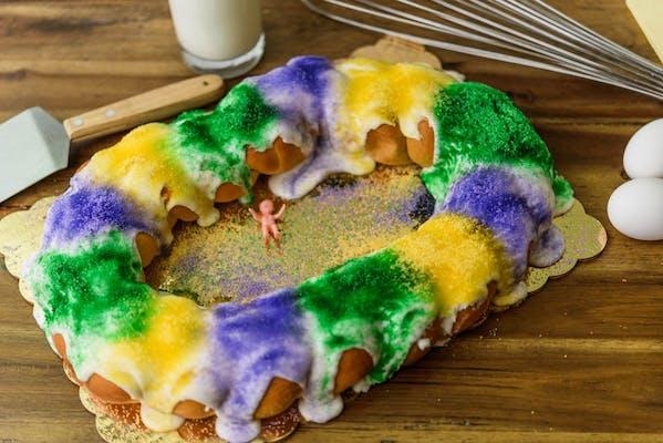 Pecan Praline Filling King Cake