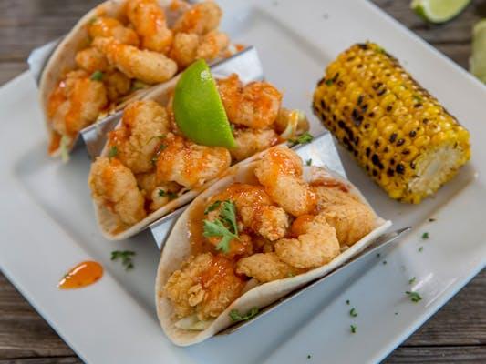 Zydeco Shrimp Taceauxs