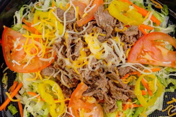 Grilled Philly Steak Salad