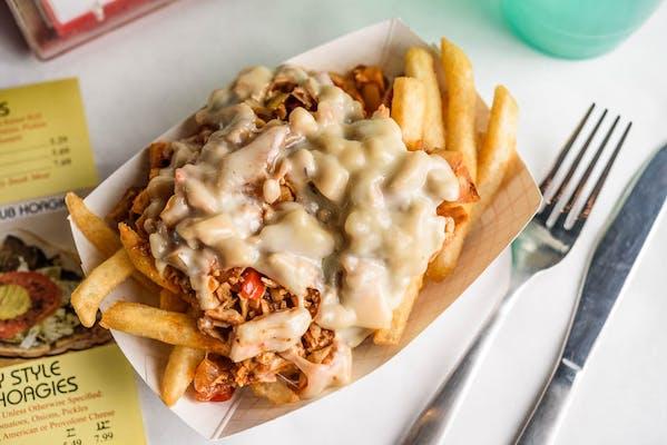 Buffalo Chicken Cheese Fries