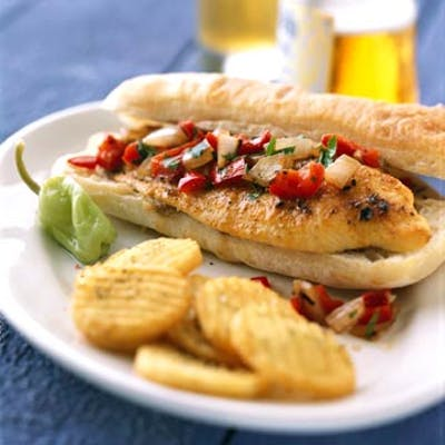 Grilled Fish Sub